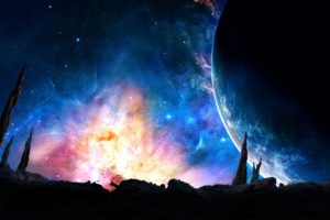 science fiction, Planet, Space