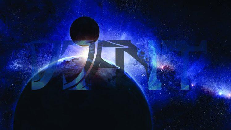 Djent, Stars, Space, Planet HD Wallpaper Desktop Background