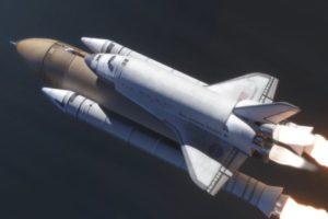 spaceship, Space Shuttle Endeavour, Space shuttle, NASA