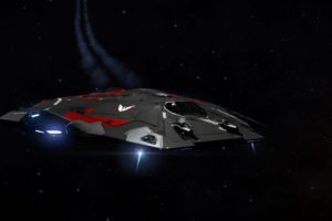 Elite: Dangerous, Cobra MKIII, Space, Sun