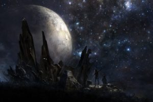 universe, Fantasy art, Artwork