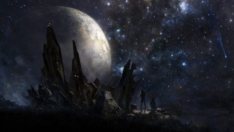 universe, Fantasy art, Artwork HD Wallpaper Desktop Background