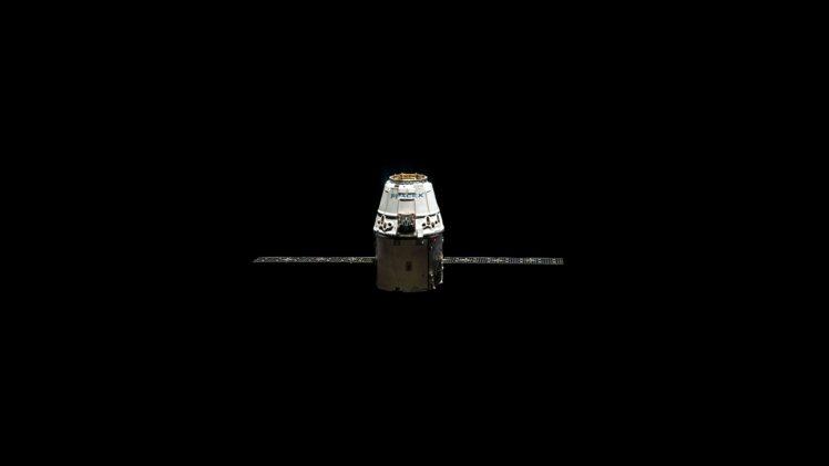 space, SpaceX, Minimalism HD Wallpaper Desktop Background