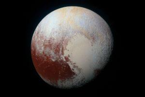 Pluto, Space, Minimalism