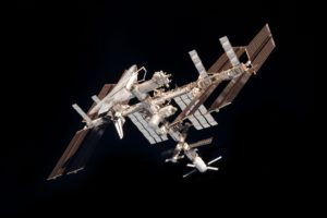ISS, International Space Station, Space, Minimalism