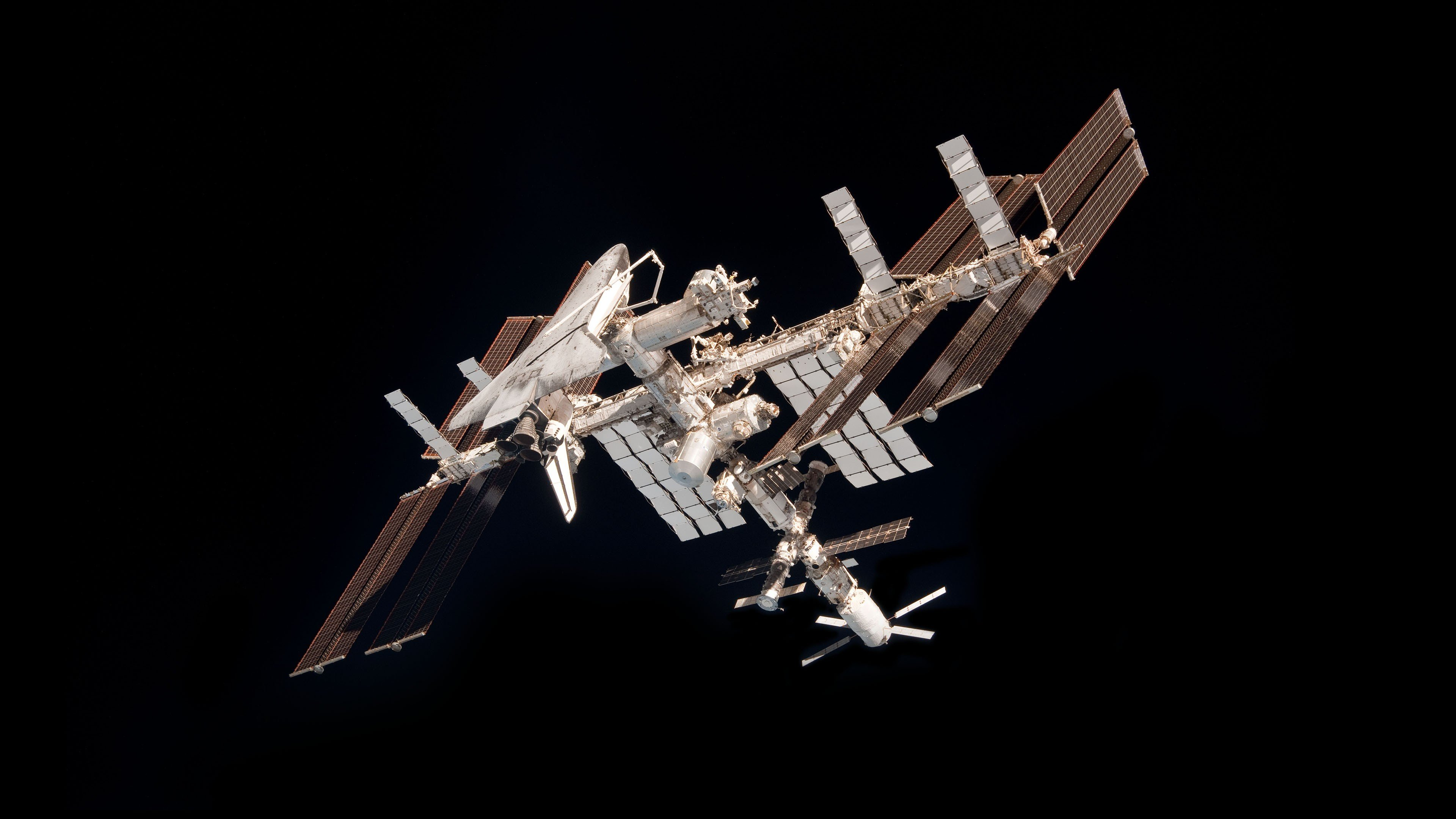 Iss Wallpapers Hd: ISS, International Space Station, Space, Minimalism HD