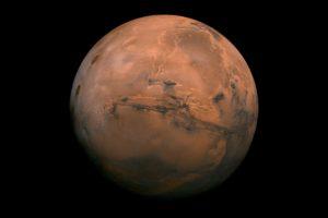 Mars, Minimalism, Space
