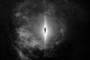 space, Stars, Lights