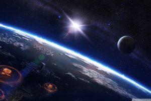 space, Atomic bomb