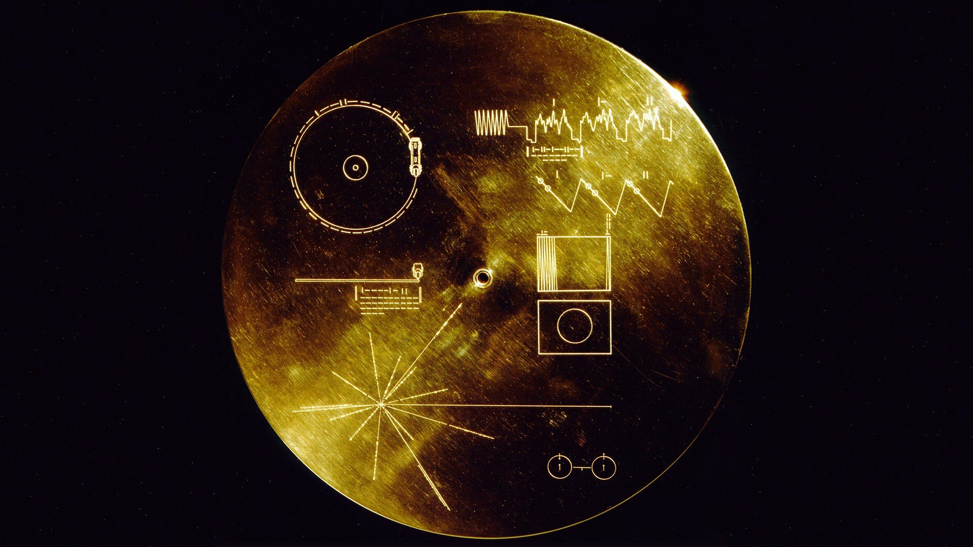 Voyager Golden Record Voyager Space Hd Wallpapers