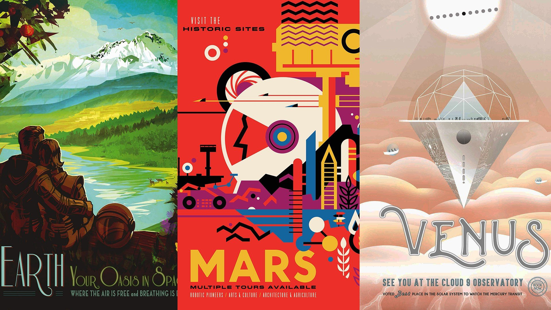 Travel Posters The Expanse Science Fiction Space Nasa Hd