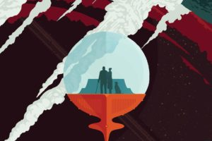 space, Planet, Material style, Travel posters, NASA, Science fiction, JPL (Jet Propulsion Laboratory)