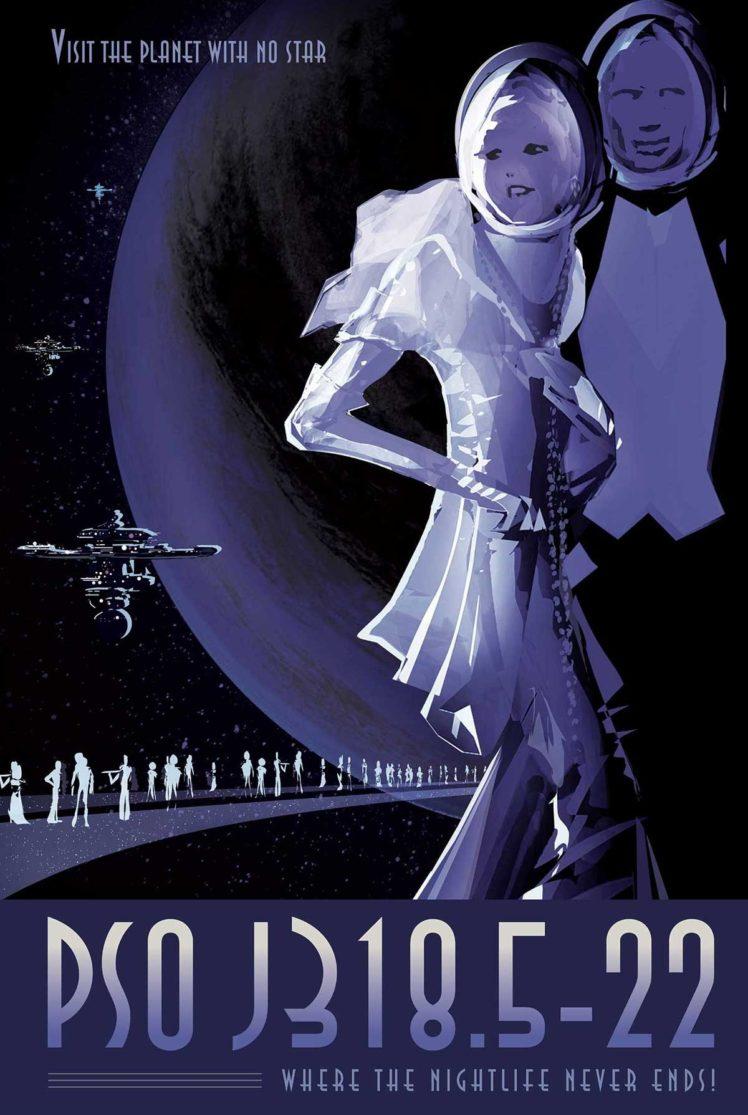 space, Planet, Travel posters, NASA, Science fiction, JPL (Jet Propulsion
