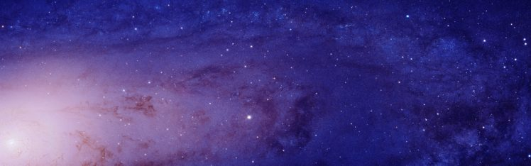 dual monitor hd wallpaper galaxy space stars closeup multiple display monitors windows 7 software