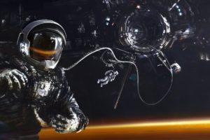 astronaut, Universe, Futuristic, Science fiction