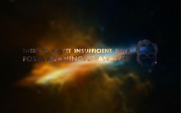 Isaac Asimov, Space, Blurred, Typography HD Wallpaper Desktop Background