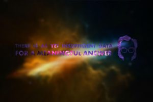 Isaac Asimov, Space, Blurred, Typography