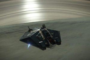 Elite: Dangerous, Stars, Space, Spaceship, Planet