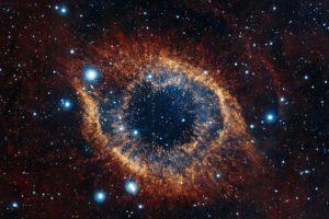 space, Stars, Helix nebula