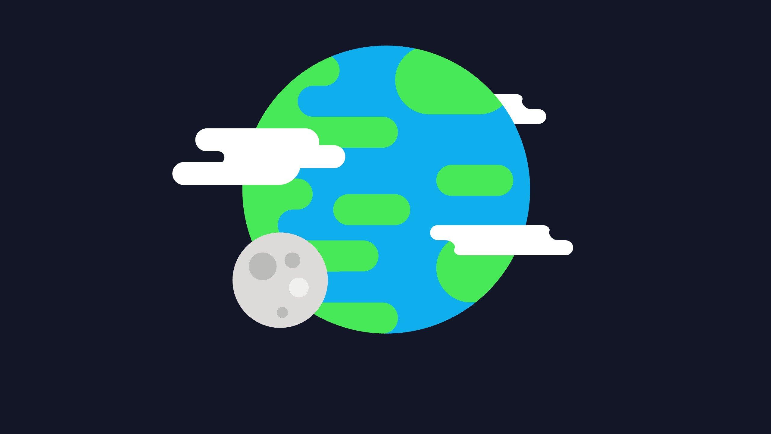 Планета замля минимализм загрузить