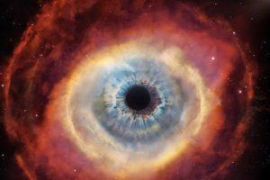 eyes, Space