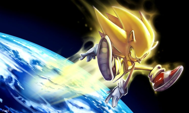 Sonic Sonic The Hedgehog Space Earth Hd Wallpapers Desktop And Mobile Images Photos