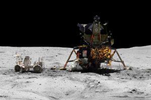 space, NASA, Earth, Moon, Apollo, North America, Rover, Spacesuit, Stone, Black, White