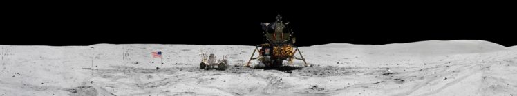 space, NASA, Earth, Moon, Apollo, North America, Rover, Spacesuit, Stone, Black, White HD Wallpaper Desktop Background