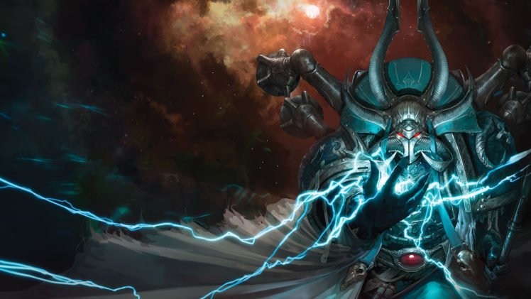 Ahzek ahriman warhammer 40 000 space marines chaos space marines hd wallpapers desktop and - Chaos wallpaper ...
