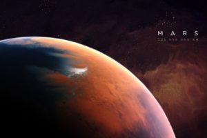Mars, Space, Universe, Artwork, Planet, Space art