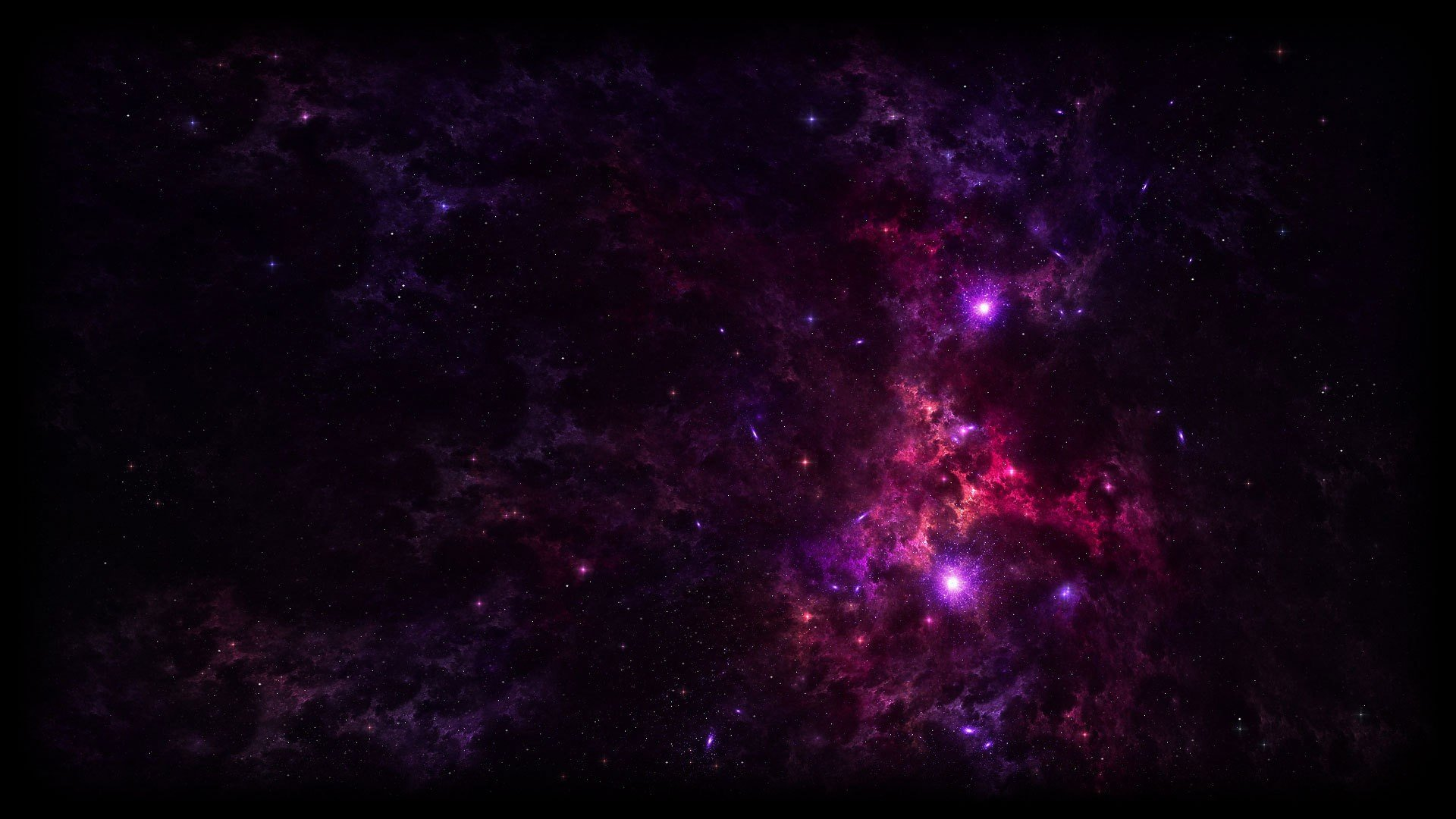 357618 purple galaxy space