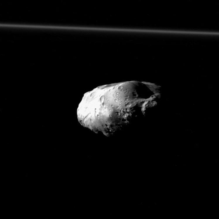 Cassini Solstice Mission Prometheus Moon Space Solar