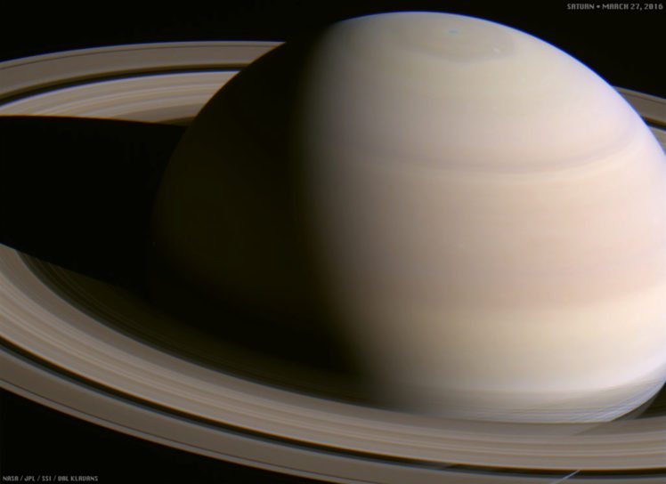 Cassini Solstice Mission, Saturn, Planet, Planetary rings, Solar System, Space HD Wallpaper Desktop Background