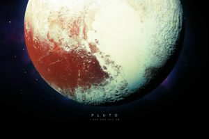 Pluto, Universe, Stars, Planet, Space