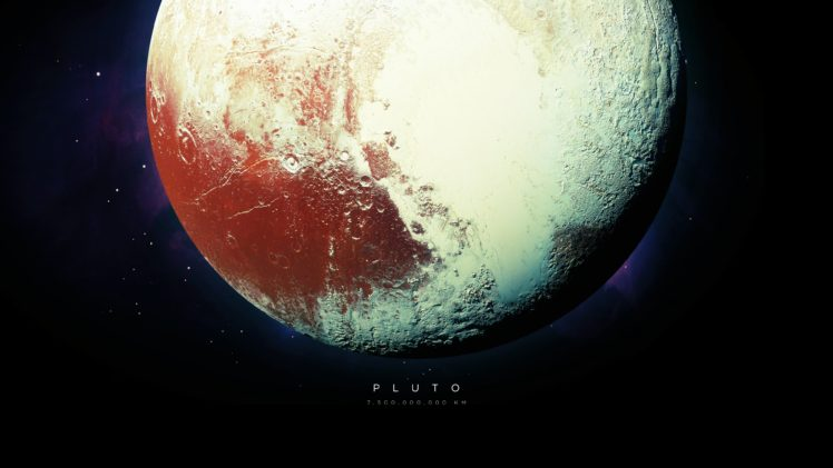 Pluto Universe Stars Planet Space Hd Wallpapers