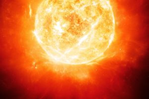 Sun, Space