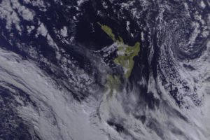 New Zealand, Meteor M N2, Satellite imagery, Space