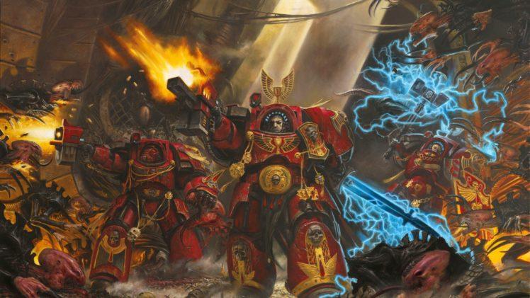 artwork, Warhammer 40, 000, Space Hulk HD Wallpaper Desktop Background