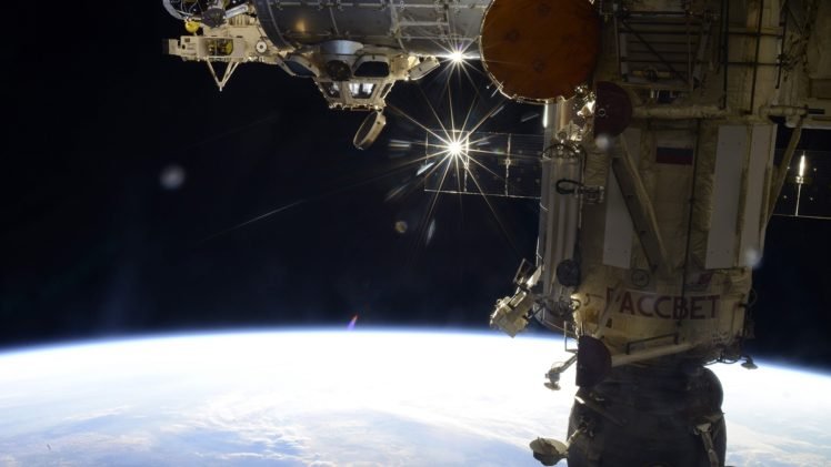 Roscosmos, NASA, International Space Station HD Wallpaper Desktop Background