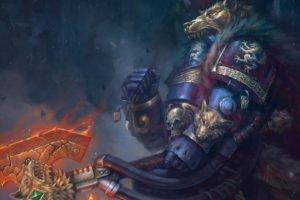 Logan Grimnar, Warhammer 40, 000, Space marines