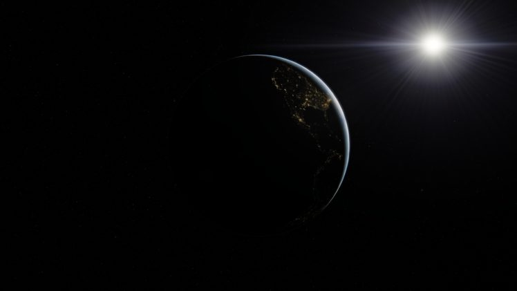 Space Earth Sun Space Engine Hd Wallpapers Desktop And Mobile Images Photos