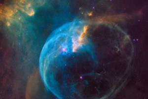 NGC 7635: The Bubble Nebula, Space, Nebula