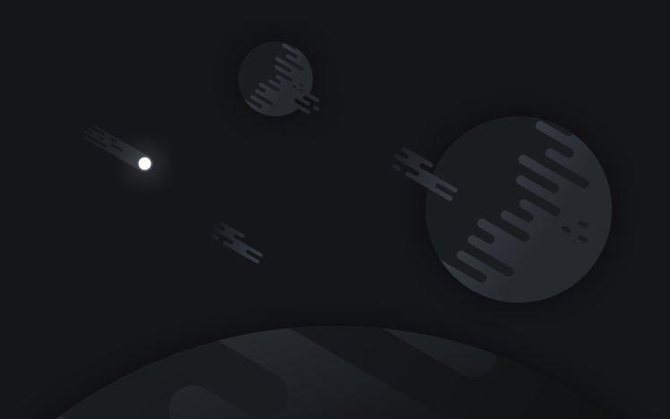 space, Stars, Night, Planet HD Wallpaper Desktop Background