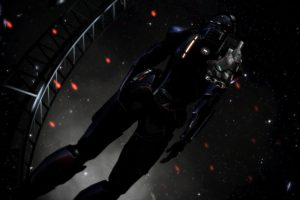 women, Space suit, Space, Mass Effect