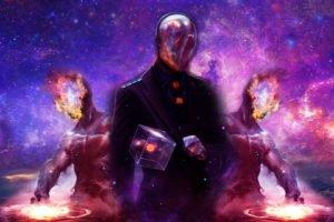 galaxy, Universe, Gods