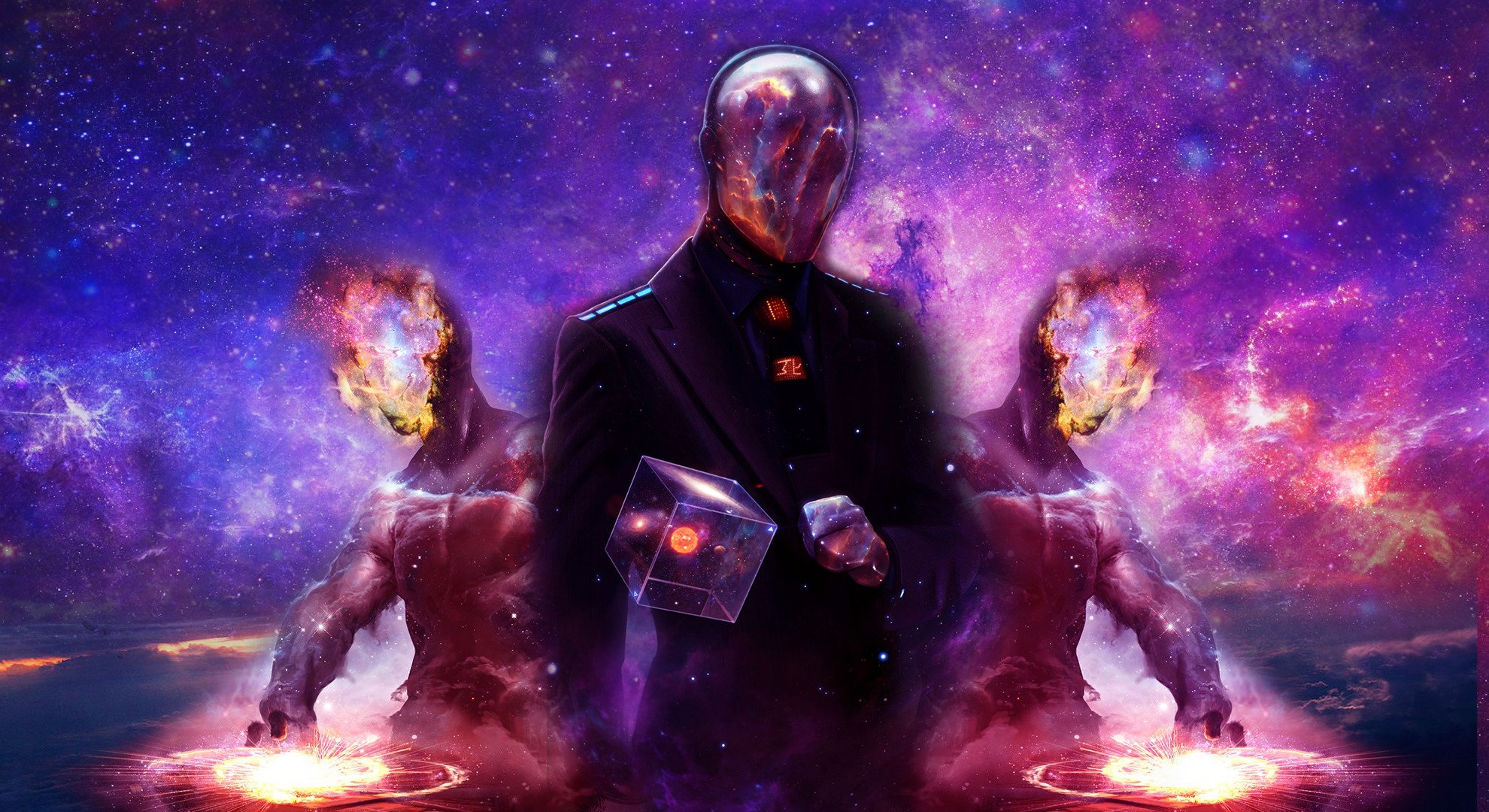 Galaxy Universe Gods Hd Wallpapers Desktop And Mobile