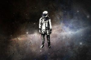 astronaut, Space, Minimalism