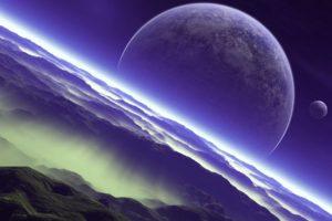 space, Planet, Universe