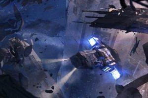 space, Science fiction, Futuristic, Spaceship