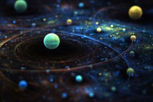 space art, Digital art, Sphere